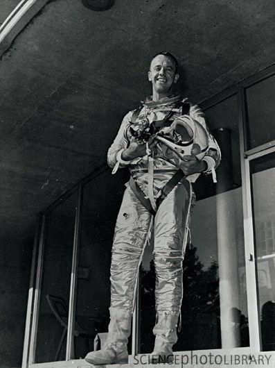 50 anos do primeiro vôo de Alan Shepard   Aventura Astronômica
