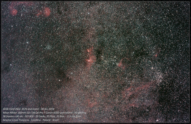 eta carinae wide field_b Deconvolved