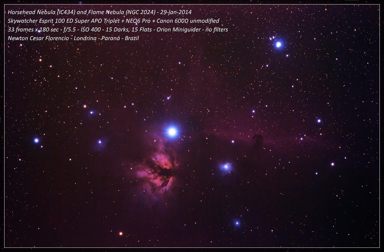 Nebulosas da Constelação de Orion Horsehead_sem_bias_filtered