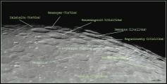 Região próximo ao pólo sul lunar