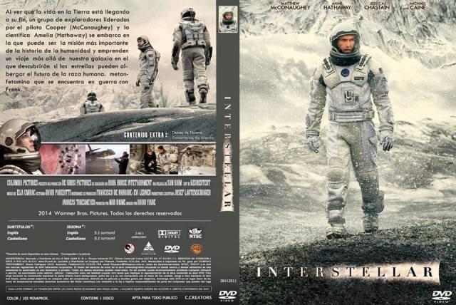 Filme: Interestelar (original Interestellar); Ano: 2014; Diretor: Christopher Nolan; Ele conta a história de uma equipe de astronautas que viajam através de um buraco de minhoca à procura de um novo lar para a humanidade.