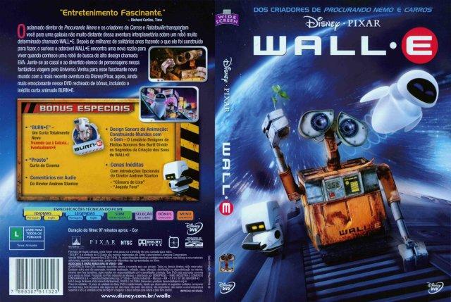 WALL·E é um filme de animação americano de 2008 produzido pela Pixar Animation Studios e dirigido por Andrew Stanton. A história segue um robô chamado WALL·E, criado no ano de 2100 para limpar a Terra coberta por lixo. Ele se apaixona por um outro robô, chamado EVA,que tem a missão de encontrar pelo menos uma planta na superfície do planeta Terra. Ele a segue para o espaço em uma aventura que irá mudar seu destino e o destino da humanidade.